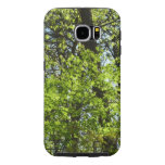 Spring Maple Leaves Green Nature Samsung Galaxy S6 Case