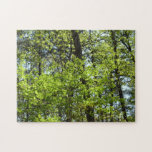 Spring Maple Leaves Jigsaw Puzzle