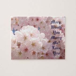 Spring Marriage Proposal puzzles Will You Marry Me