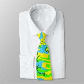 Spring Meadow Camo Neck Tie