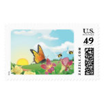 Spring Meadow Postage Stamp