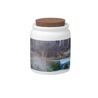 Spring Melt Off Flowing Down From Bonanza Candy Jars