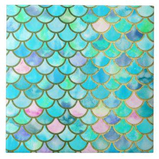 Mermaid Scales Ceramic Tiles | Zazzle