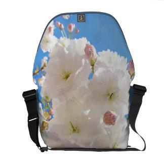 Spring Messenger Bags Fluffy Tree Blossoms custom