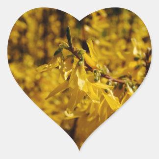 Spring messenger heart sticker
