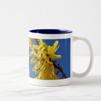 Spring messenger Two-Tone coffee mug