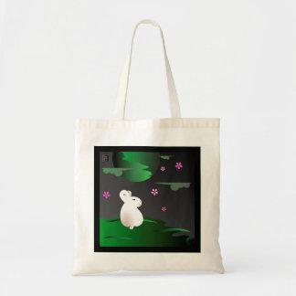 """Spring"" Moon Bunny tote bag"
