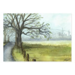 """""""Spring Morning"""" Large Business Cards (Pack Of 100)"""