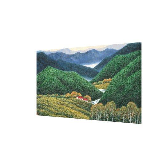 Spring Mountains Canvas Print