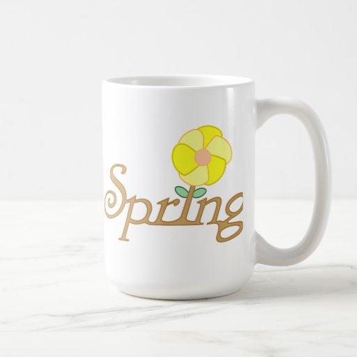 Spring Mug Basic White Mug