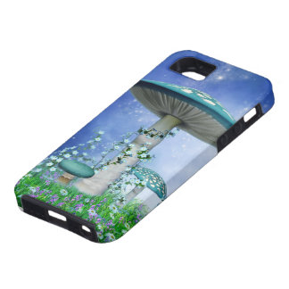 Spring Mushrooms Tough iPhone SE Case