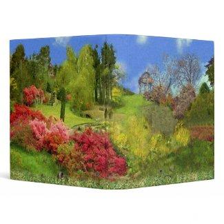 Spring Nature binder