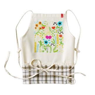 Spring nature Collection Custom Zazzle HEART Apron