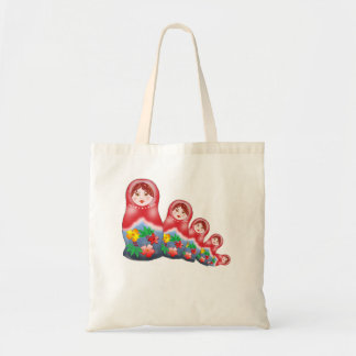 Spring Nesting Dolls Canvas Bags