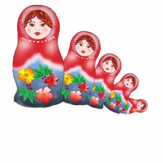 Spring Nesting Dolls Statuette