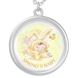Spring New Baby Rabbit Illustration Jewelry