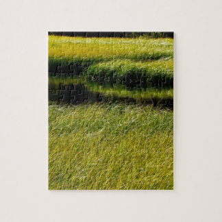 SPRING NEW GRASS PATTERN PUZZLE