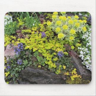 Spring Northside Cottage Rock Garden Mouse Pad