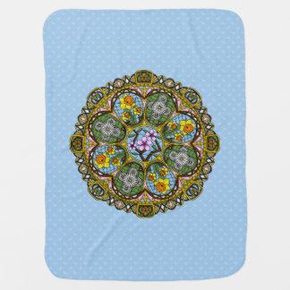 Spring Nouveau Baby Blanket