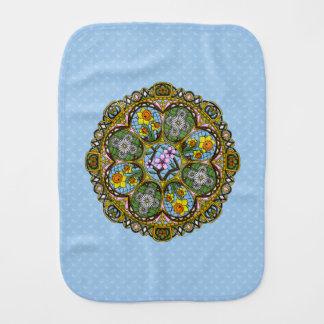 Spring Nouveau Burp Cloth