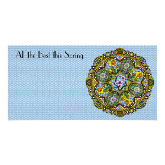 Spring Nouveau Photo Card