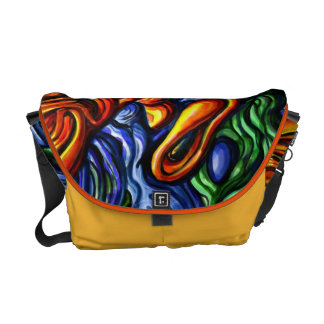 """Spring of the air"" - an abstract digital art bag"