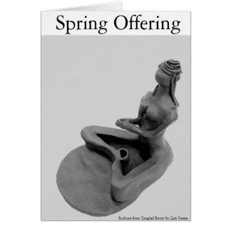 Spring Offering Card