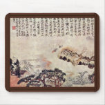 Spring On The Min River By Tao Chi (Best Quality) Mouse Pad