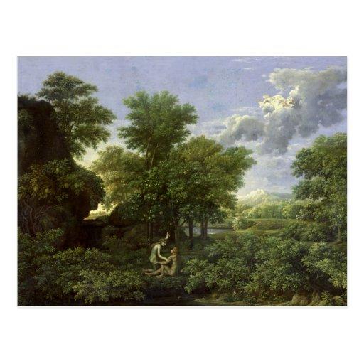 Spring, or The Garden of Eden Postcards