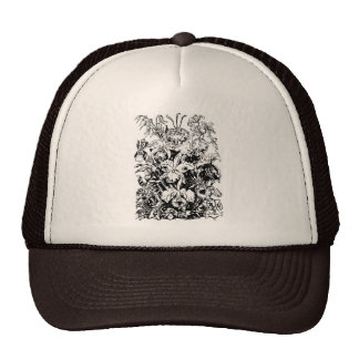 SPRING ORCHIDS HATS
