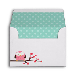 Spring Owl Envelope