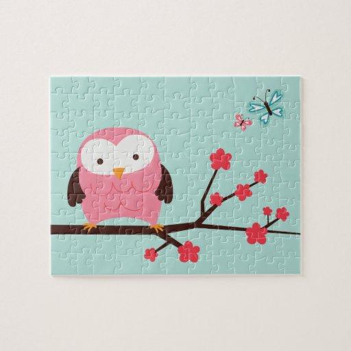 Spring Owl Jigsaw Puzzle