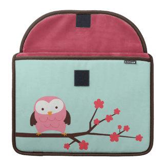 Spring Owl Macbook Sleeve