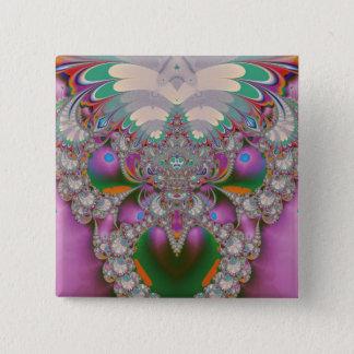 Spring Owl Pinback Button