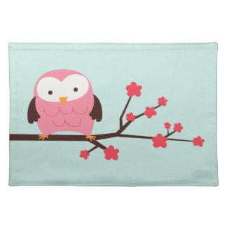 Spring Owl Place Mat