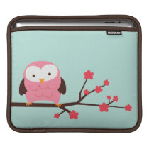Spring Owl Sleeve For iPads