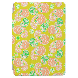Spring Paisley on Yellow iPad Air Cover