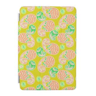Spring Paisley on Yellow iPad Mini Cover