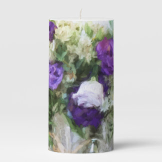 Spring Passion Pillar Candle