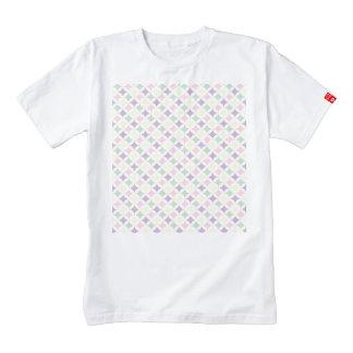 Spring Pastel Diamond Pattern Zazzle HEART T-Shirt