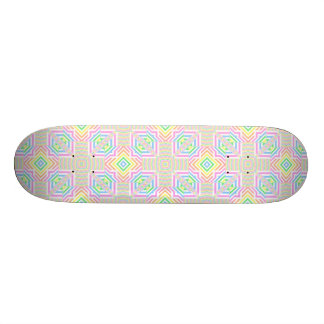 Spring Pastels Seamless Abstract Skateboard Decks
