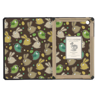 spring pattern with easter eggs,birds iPad mini cases
