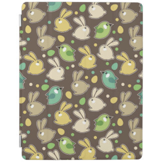 spring pattern with easter eggs,birds iPad cover