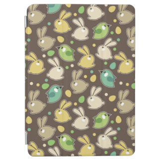 spring pattern with easter eggs,birds iPad air cover