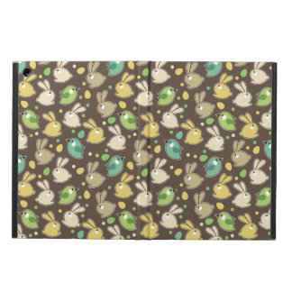 spring pattern with easter eggs,birds cover for iPad air