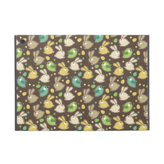 spring pattern with easter eggs,birds iPad mini covers