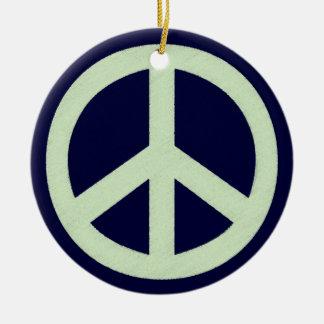 Spring Peace Ceramic Ornament
