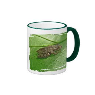 Spring Peeper (Pseudacris crucifer) Treefrog Items Ringer Coffee Mug