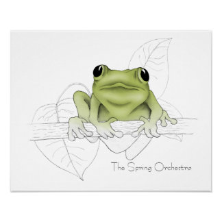 Spring Peepers Orchestra Posters
