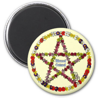 Spring Pentical 2 Inch Round Magnet